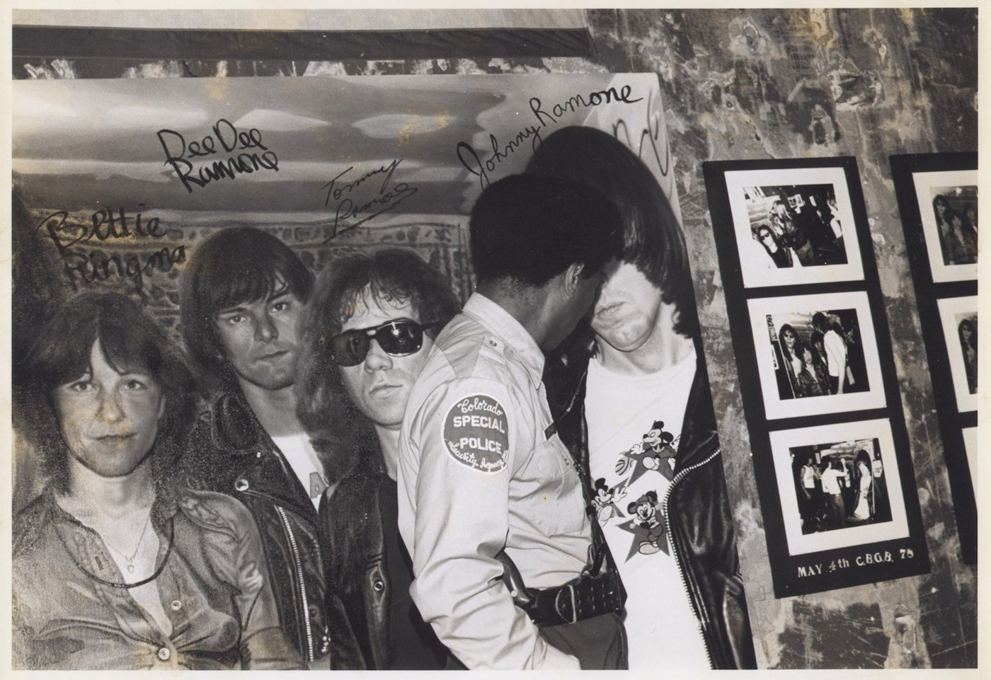 37 Security Guard protects 'Bettie and the Ramones