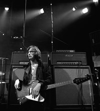 Gered Mankowitz Eric Clapton playing guitar performing