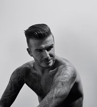 David Beckham, Collier Schorr, Another Man Magazine