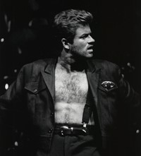 George Michael fashion style evolution