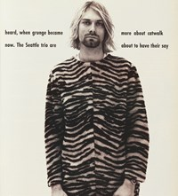Kurt Cobain The Face Magazine