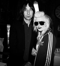 Bobby Gillespie and Pam Hogg