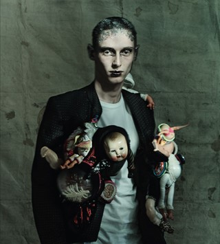 Paolo Roversi Katy England Comme des Garcons Another Man