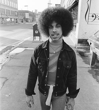 Prince pre fame first shoot young 1977 Robert Whitman fashio