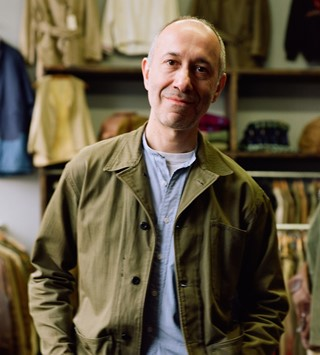 Michael Levison of Levisons vintage shop interview