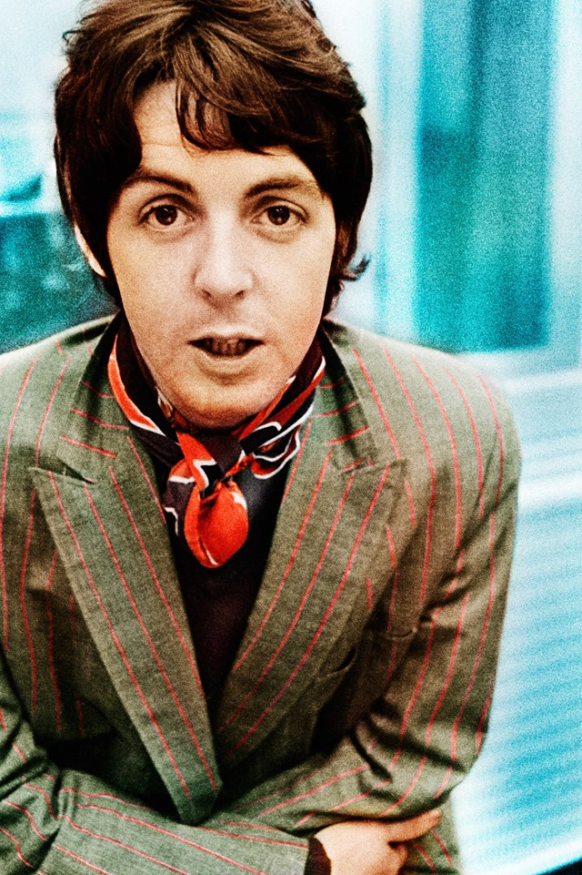 Gered Mankowitz Paul McCartney Beatles colour 60s fashion