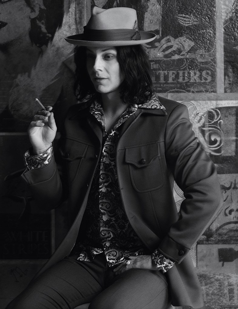 Jack White, Mark Segal, Another Man Magazine
