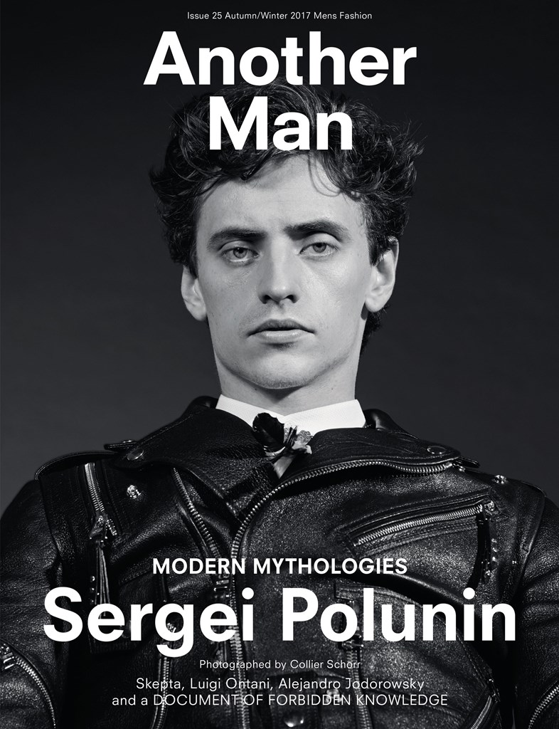 Another Man Sergei Polunin cover Collier Schorr 2017