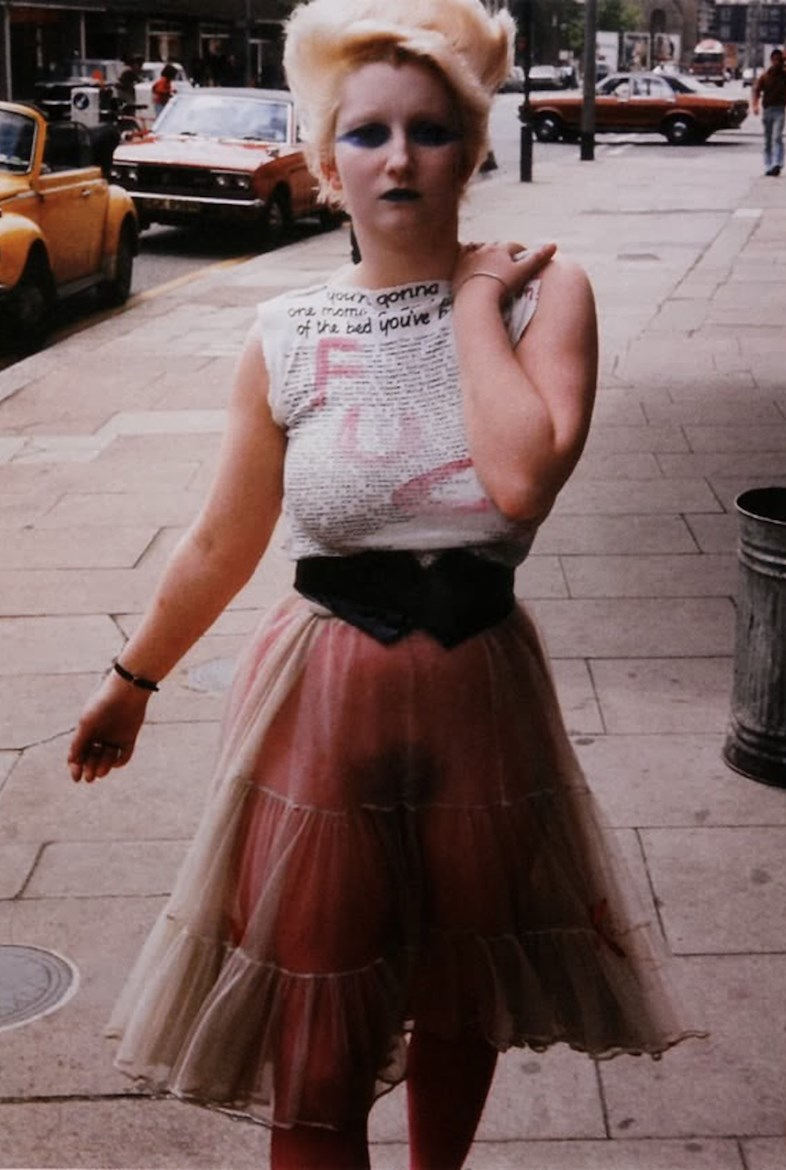 Punk fashion in the 70s 100