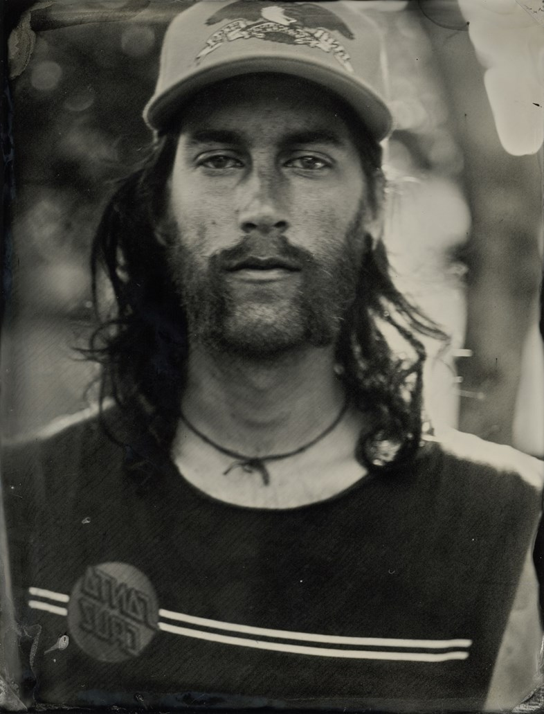 west coast skaterboarders tintype portraits jenny sampson